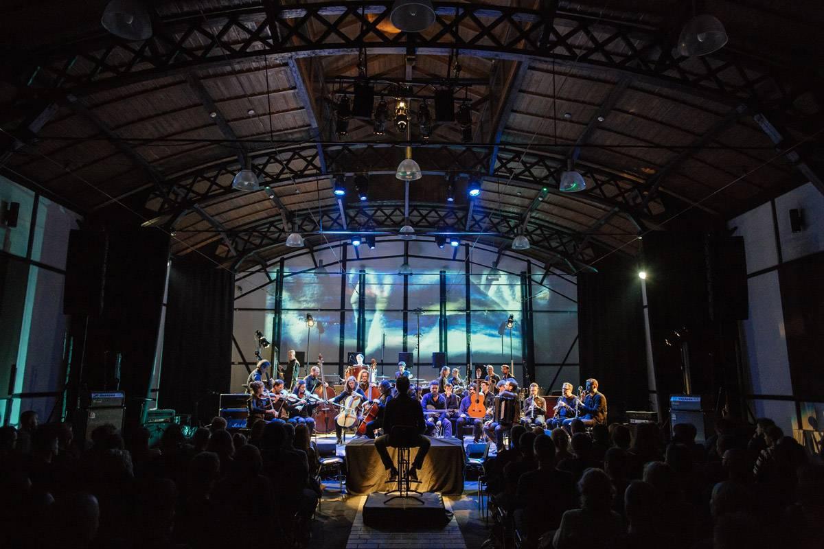 orchestre de nouvelles créations, expériementations et improvisations musicales